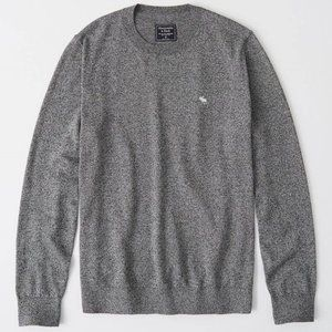 Mens Icon Crewneck Sweater Abercrombie & Fitch A&F